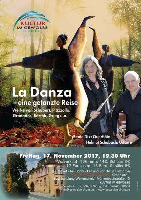 La Danza - eine getanzte Reise @ Gewölbe im Zehnthof   Sinzig   Rheinland-Pfalz   Deutschland