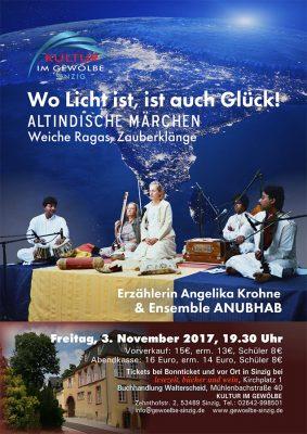 Angelika Krohne & Ensemble ANUBHAB @ Gewölbe im Zehnthof | Sinzig | Rheinland-Pfalz | Deutschland