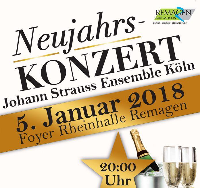 """Neujahrskonzert 2017 """"Wien bleibt Wien"""" am 5. Januar 2018"""