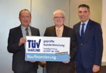 TÜV zertifiziert Baufinanzierungsberatung der Volksbank Koblenz Mittelrhein