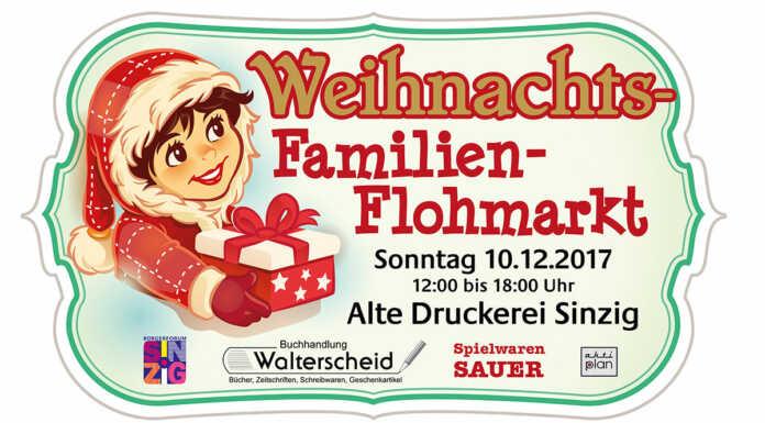 WEIHNACHTS-FAMILIEN-FLOHMARKT - Jetzt anmelden!