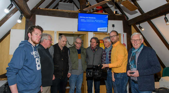 Initiative AW im Netz besuchte das Studio des Bürgerkanals OK4 in Adenau