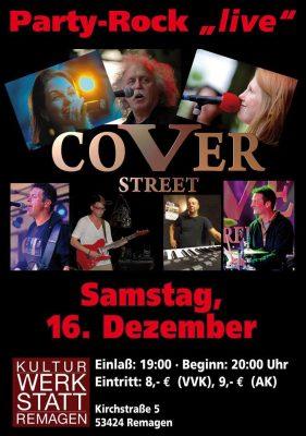 Coverstreet Party-Rock - live @ Kulturwerkstatt Remagen | Remagen | Rheinland-Pfalz | Deutschland