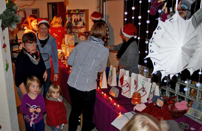 Weihnachtsmarkt in der KITA Max und Moritz ein großer Erfolg