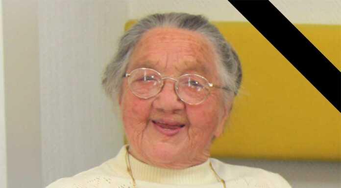 Rotkreuzler trauern um Edith Kessel