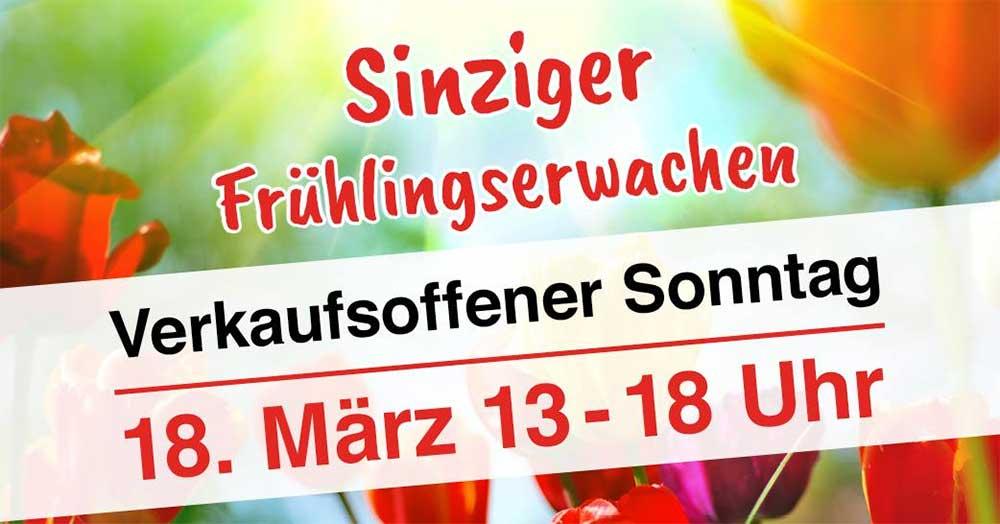 Sinziger Fruhlingserwachen 2018 Am Sonntag Den 18 Marz