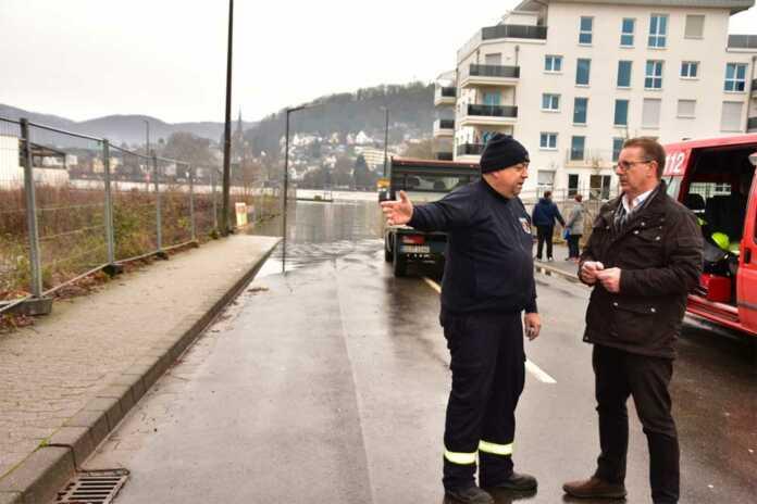 Nach dem Hochwasser: Dank an die Feuerwehr