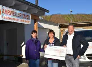 500 Euro für Tafel Ahrweiler