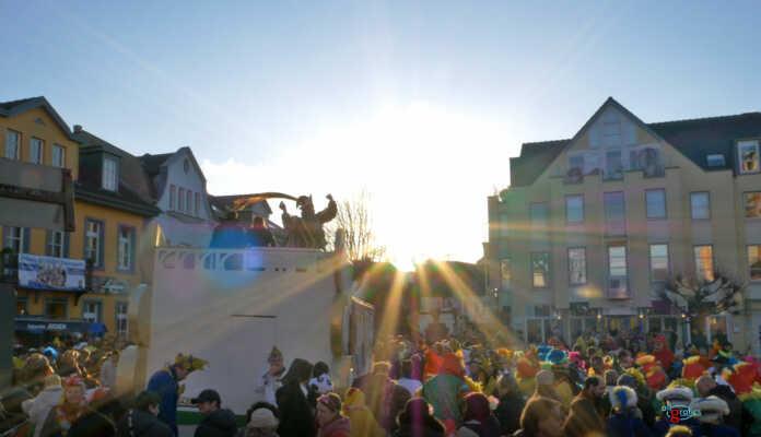 Karnevalszug Sinzig 2018 - der Film