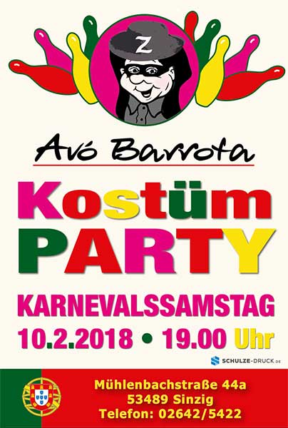 Kostümparty Avo Barrota