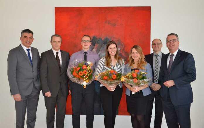 Azubis der Volksbank Koblenz Mittelrhein starten als Bankkaufleute
