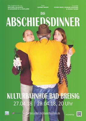 Zum Abschied ein Dinner @ Kulturbahnhof Bad Breisig | Bad Breisig | Rheinland-Pfalz | Deutschland
