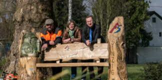 Neue Bank am AhrSteig Etappenziel in Sinzig