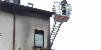 Wohnhausbrand in Heppingen