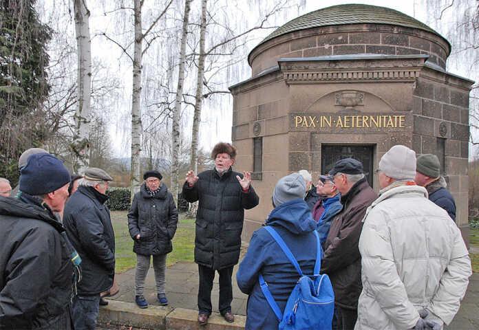 Sinziger Denkmalverein Exkursion in Kripp