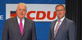 Integrationskurse im AW-Kreis - Guido Ernst und Horst Gies wollten nähere Informationen