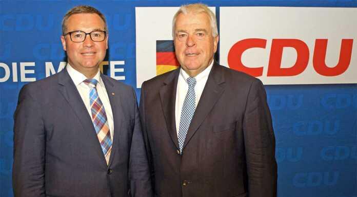 Horst Gies und Guido Ernst (CDU) zu Kommunalfinanzen