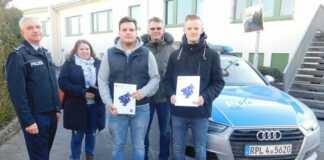 Polizei ehrt beherzte Remagener mit Urkunde