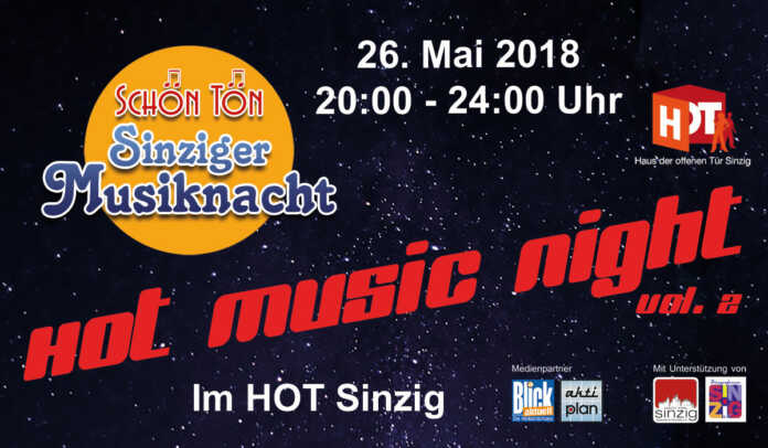 Heiß, heißer, HOT Music Night Vol. 2