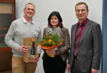 Beate Jüliger und Heinz Schiffer feiern 25. Dienstjubiläum