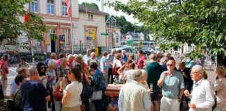 """Besuch aus Maisons-Laffitte zu """"Rhein in Flammen"""""""