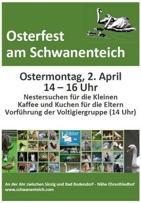 Osterfest am Schwanenteich 2018 @ Schwantenteich | Sinzig | Deutschland