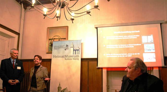 Christian Schmiedel vom Rathausverein Oberwinter sprach beim Denkmalverein Sinzig über Gottfried und Johanna Kinkel