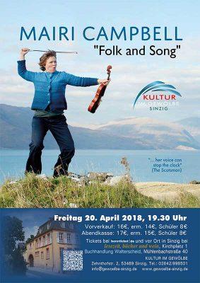 MAIRI CAMPBELL Folk and Song @ Gewölbe im Zehnthof | Sinzig | Rheinland-Pfalz | Deutschland