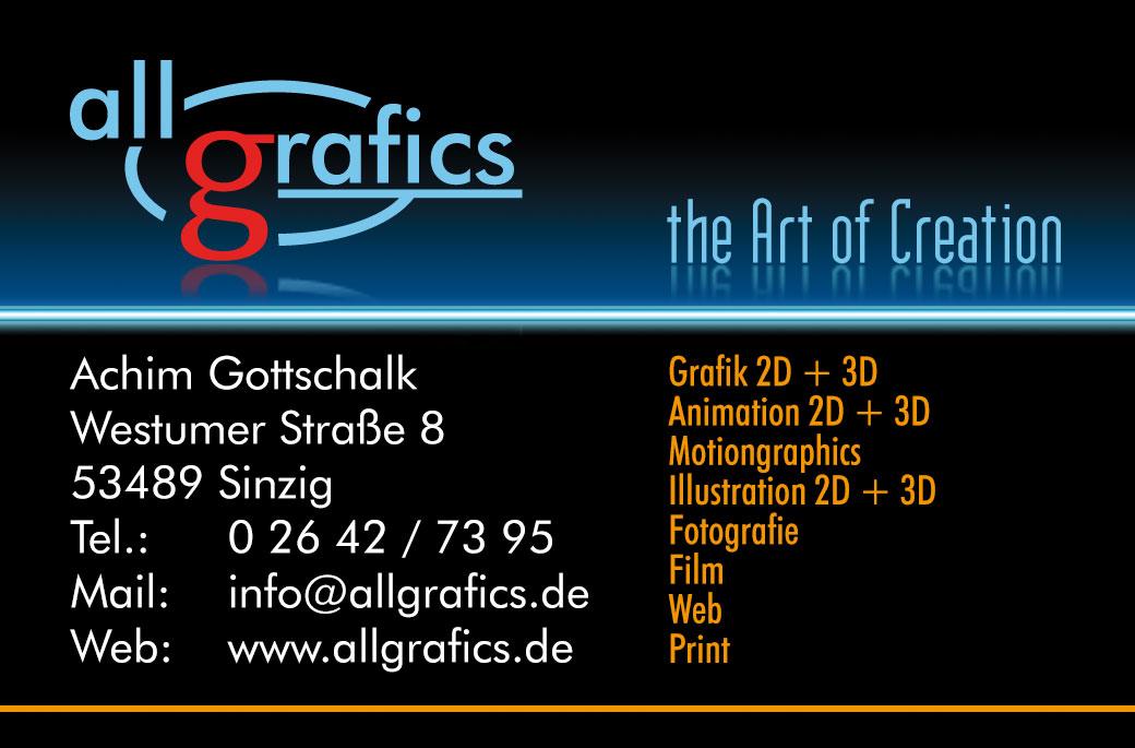allgrafics - Grafik - Web - Fotografie - Animation