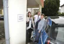 Erste e-Ladesäule in Bad Breisig in Betrieb genommen