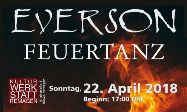 Everson Feuertanz @ Kulturwerkstatt Remagen | Remagen | Rheinland-Pfalz | Deutschland