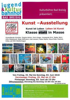 Kunst-Ausstellung der Initiative Breisiger Künstler @ Jugend- & Kulturbahnhof Bad Breisig | Bad Breisig | Rheinland-Pfalz | Deutschland