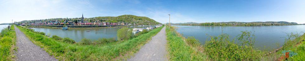 Panorama Oberwinter - Foto: allgrafics