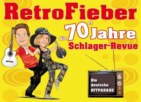 Retrofieber 70er Jahre Kabarett-Revue mit Revue – Bellevue @ Schloss Sinzig | Sinzig | Rheinland-Pfalz | Deutschland