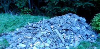 Illegale Ablagerung von Bauschutt - Zeugen gesucht