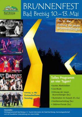 Brunnenfest 2018 - das Programm @ Bad Breisig   Bad Breisig   Deutschland