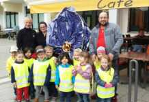 Spende des Cafés Friuli an die Kita-Goethe-Knirpse
