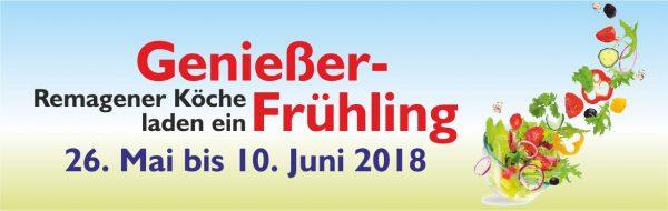 Genießer-Frühling 2018 startet am kommenden Wochenende