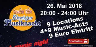SchönTön - Sinziger Musiknacht 2018