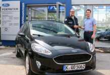 Ford Foerster unterstützt DRK bei Einsatzdurchführung am Nürburgring