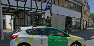 Google Maps Street view in Sinzig