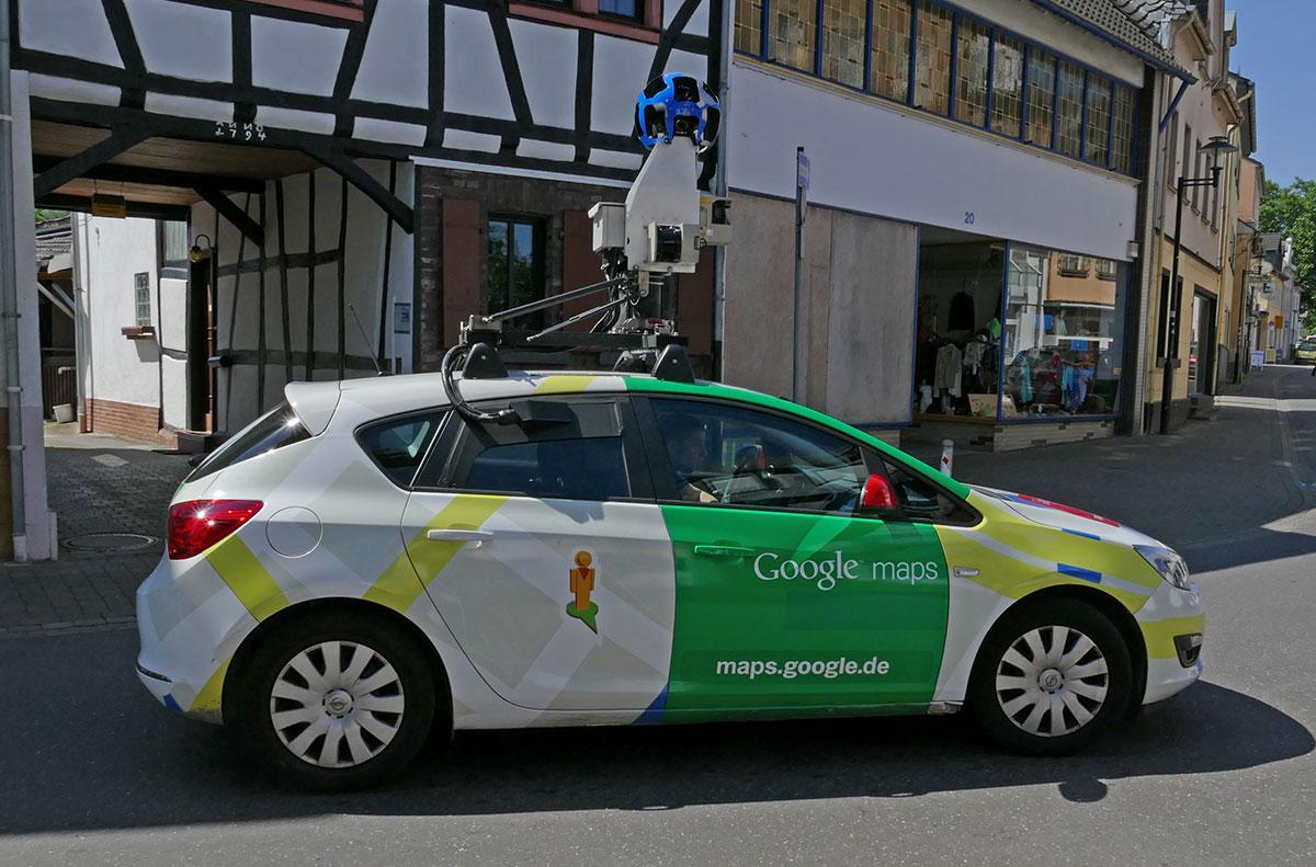 Google Maps Street view in Sinzig on