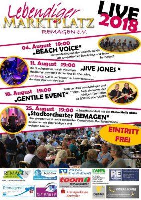 Lebendiger Marktplatz 2018 @ Remagen Marktplatz | Remagen | Rheinland-Pfalz | Deutschland