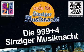 Sinziger Musiknacht 2018 - Party in der lauen Frühlingsnacht - der Film