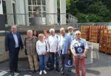 Besuch der AG SPD 60plus am Tönissteiner Sprudel