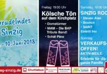 Sprudelndes Sinzig 8. bis 10. Juni 2018