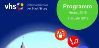 Neues Programm der Volkshochschule Sinzig erscheint