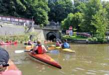 Foto: Privat - Einfahrt zu dem Schiffstunnel in Weilburg