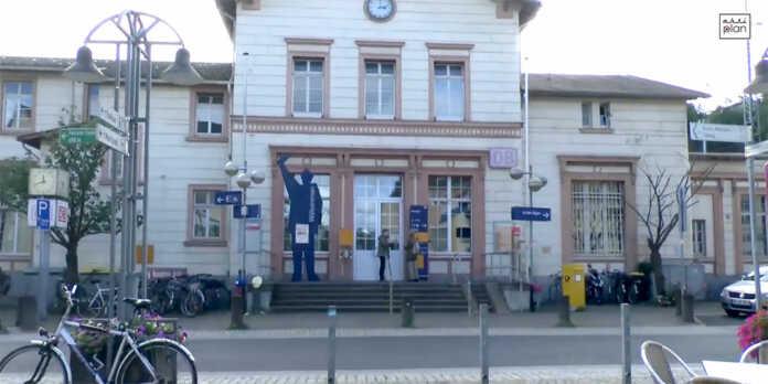 Bauarbeiten im Bereich des Bahnhofes Remagen