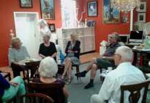 Erstes Galerie-Geplauder mit Rosemarie Bassi in Remagen